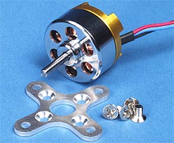 300XT R/C Outrunner Brushless Motor for Electric Radio Remote Control Airplane 1300 RPM
