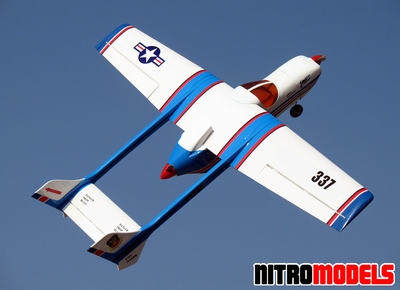"337 Twin-Engine 25 - 55"" Nitro/Electric  Controlled Airplane ARF RC Remote Control Radio"