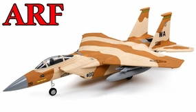 4-CH AirField 64mm F15 Ducted Fan RC Jet ARF w/ Brushless Motor+ESC (Desert Camo)