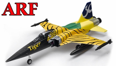 4-CH AirField 64mm F5 Ducted Fan RC Jet ARF Receiver-Ready w/ Brushless Motor+ESC (Tiger)