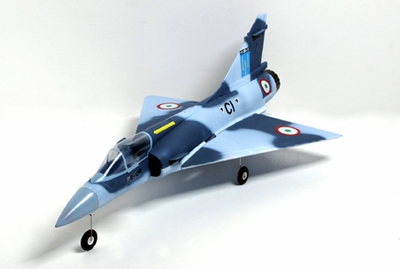 4 CH Blue Camo Mirage 2000 3D Aerobatic Radio Remote Control Electric RC Fighter Jet RTF w/ Brushless Ducted Motor