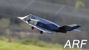 """4 CH Max Jet 64MM Fighter Electric Ducted Fan Jet ARF Version  """"Receiver Ready"""" (Black)"""