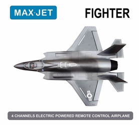 4 CH Max Jet 64MM Fighter Electric Ducted Fan Jet KIT Version (Sky Camo)