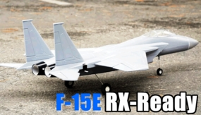 4-CH R/c F15E Foam EDF Remote Controlled Jet ARF Receiver-Ready Version w/ Electric Brushless Ducted Fan + Brushless Motors + ESC + LiPo EDFJet_F15E_ARF_GRAY