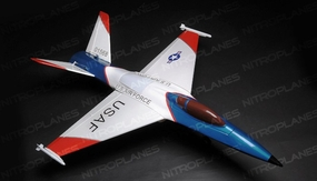 "4-Channel UCAV 47"" 101MM EDF Radio Remote Control RC Airplane"