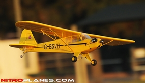 "40"" 2.4Ghz Airfield RC 4-Ch J3 Piper Cub Super Scale Airplane RTF w/ Brushless Motor/ESC/Lipo (Yellow) 93A603-1100-J3-Yellow-RTF-24G"