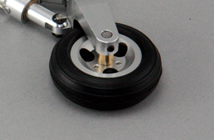 42mm Metal Wheel for CMP EDF T-45 (1pc) CMP-EDF-T45-Metal-Wheel-42mm