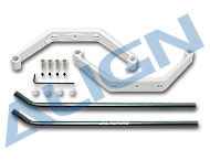 450 Landing Skid Set/White HS1294A