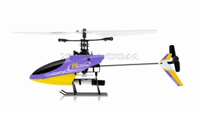 4CH Mini RC Helicopter 9958 hot selling 2.4GHz Single-Propeller with Gyro  (Purple)