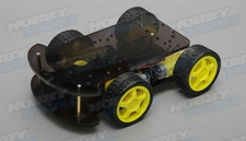 4WD Robot Smart Car Chassis Kits car DC 3v 5V 6V for Arduino