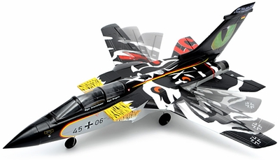 5 Channel 2.4G Ready-to-Fly 64MM F3 Tornado EDF Jet w/ Sweepback Wings (Black) RC Remote Control Radio