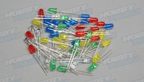 50PCS 5 Color 5mm LED For Green Blue Red Yellow White Light 5mm kit AA For Arduino pcb