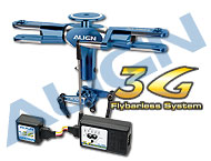 600 3G Programmable Flybarless System/Blue HN6110QH