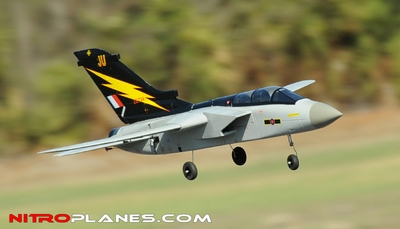 64MM Airframe Version 5-CH F3 Tornado EDF Jet w/ Sweepback Wings (Grey)