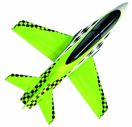 64mm Concept X Super Performance Ducted Fan RC Jet Airframe Only (Green)