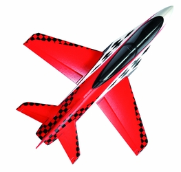 64mm Concept X Super Performance Ducted Fan RC Jet Airframe Only (Red) RC Remote Control Radio