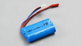 7.4V li-ion batteries