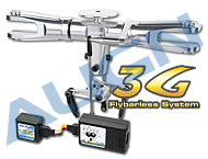 700_3G_Programmable Flybarless System/Silver HN7093