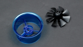 70mm EDF Kit,including the unique 8-blade fan rotor� and ducted housing�