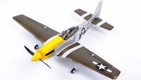 93a275 AirField 800mm P51 Mustang Yellow Spare Parts