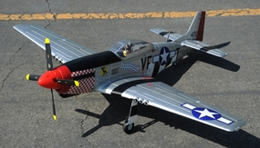 93a333 AirField P-51 Marie 1450MM Silver