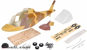 A109 450 Glass Fiber Pre-Painted Fuselage Desert
