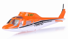A119 Scale Fuselage Orange