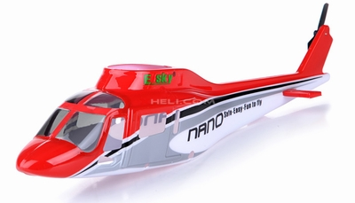 A119 Scale Fuselage Red