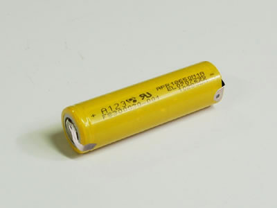 A123 Systems 1100mAh 3.3V 1S1P-W Lithium-ion LiFePo4 Battery [Dev.Kit ]