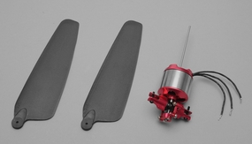 A28L hollow shaft motor+4D Metal variable pitch System+9inch Prop combo