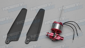 A28M hollow shaft motor& 4D Metal variable pitch System & 8 inch Prop combo