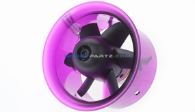 AEO-RC 64mm Ducted Fan Combo w/ 3900KV Brushless Motor