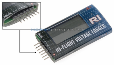 AEO-RC R1 in-Flight Voltage Logger & Battery Health Analyzer
