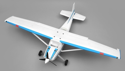 AeroSky RC 185 Sky Trainer RC Plane w/Float 4 Channel 2.4ghz Ready to Fly 1500mm Wingspan (Blue) RC Remote Control Radio