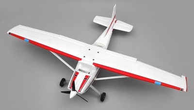 AeroSky RC 185 Sky Trainer RC Plane w/Float 4 Channel 2.4ghz Ready to Fly 1500mm Wingspan (Red) RC Remote Control Radio