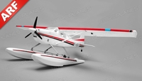 Aerosky 185 Sky Trainer RC Plane w/Float 4 Channel ARF Almost Ready to Fly 1500mm Wingspan (Red)