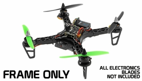 AeroSky RC 250mm QAV Superlight Plastic Frame RC Remote Control Radio