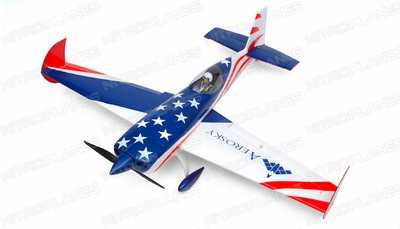 "Aerosky 4-CH Extra 330SC Special Edition 55"" Sports Aerobatic Brushless RC Airplane ARF (Blue)"