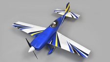 "Aerosky 4 Channel Extra 330SC Special Edition 55"" Sports Aerobatic Brushless RC Airplane ARF (Blue)"