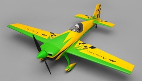 "Aerosky 4 Channel Extra 330SC Special Edition 55"" Sports Aerobatic Brushless RC Airplane ARF (Green)"