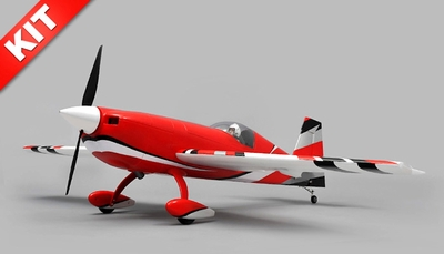 "Aerosky 4 Channel Extra 330SC Special Edition 55"" Sports Aerobatic Brushless RC Airplane Kit (Red)"