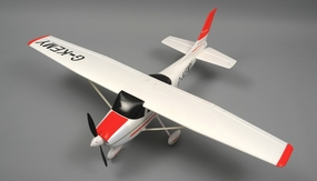 AeroSky 4-Channel Sky Trainer 1410mm RC Airplane RTF (Red)