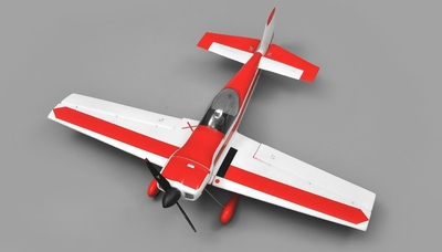 AeroSky Cap 6 Channel Aerobatic  ARF Wingspan 750mm RC Plane (Red)