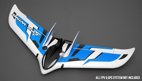 AeroSky RC RC Delta Flying Wing 6 Channel Ready to Fly 2.4Ghz 1550mm Wingspan RC Remote Control Radio