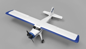 AeroSky DHC 4 Channel Trainer  ARF Wingspan 1000mm RC Plane (Blue)