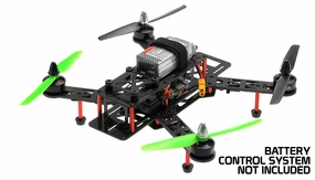 AeroSky RC QAV 280mm Superlight Carbon Fiber KIT combo RC Remote Control Radio
