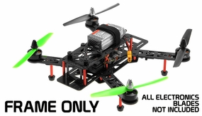 AeroSky RC QAV QAV250 Carbon Fiber KIT quadcopter RC Remote Control Radio