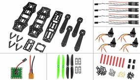 AeroSky QAV ZMR250 Superlight Carbon Fiber KIT combo