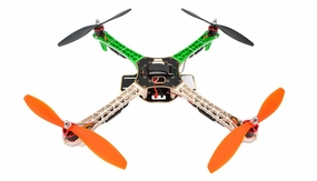 AeroSky Quadcopter  4 Channel ARF w/ LED, Motor, ESC, MWC Flight Control Board (Green)