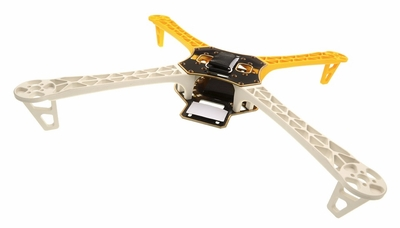 AeroSky RC Quadcopter  4 Channel Kit Frame (Yellow) RC Remote Control Radio